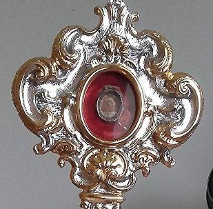 Рэліквіі святой Кацярыны Александрыйскай у Будслаўскім касцёле