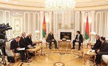 Встреча Александра Лукашенко с главой парламента Грузии Ираклем Кобахидзе