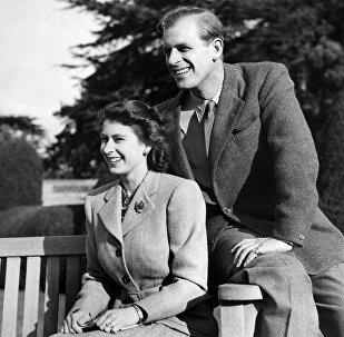 Королевская свадьба: Елизавета II и герцог Эдинбургский, принц Филипп