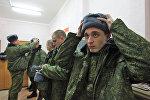 Адпраўка маладога папаўнення ў армію