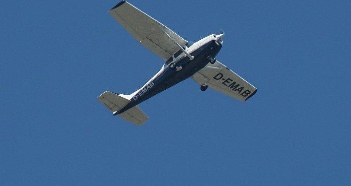 Самолет, запросивший аварийную посадку вВильнюсе, удачно приземлился