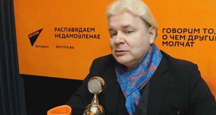 Андрис Лиепа в гостях у радио Sputnik Беларусь