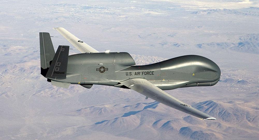 Американский дальний беспилотник заметили наСеверо-Западе